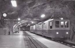 Chemins De Fer - Suisse - Train Autorail Crémaillère - Tramways