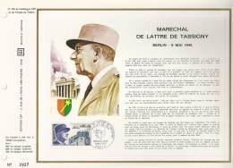 France CEF 135 - Maréchal De Lattre De Tassigny Berlin 8 Mai 1945 - T. 1639 - Covers & Documents