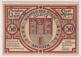 ALEMANIA  50 Pfennig 1-Septiembre-1.921 - EURO