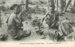 : Réf : L-12-1351  : Chine Territoire De Kouang-Tchéou-Wan  Forgerons Chinois - Chine