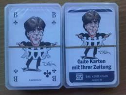 SKATSPIEL Neue OZ Gute Karten Ihrer Zeitung FUSSBALL Nationalmannschaft Jogi Löw - Kartenspiele (traditionell)
