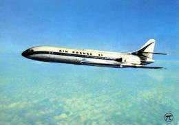 Aviation - AVION -   AIR FRANCE  - CARAVELLE  En Vol - 1946-....: Moderne