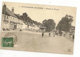 (71 -  Saône Et Loire)  MONTCHANIN-les-MINES  (Bourgogne)  Montée Du Thiellet - Frankrijk