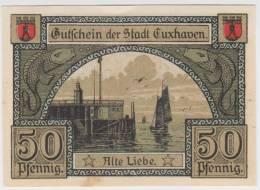 ALEMANIA  50 Pfennig 31-Febrero-1.921 - EURO