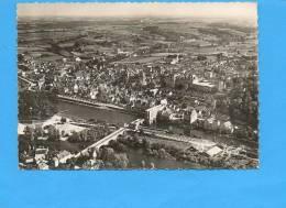 """41 Saint AIGNAN Sur CHER :Vue Aérienne , La Plage , La Ville Et Le Château N°1350 """"Greff""""  (non écrite) - Saint Aignan"""