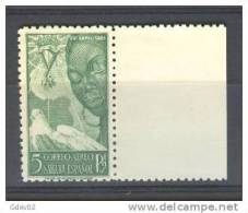 SHR87-3079TAN.Maroc .Marocco..SAHARA  ESPAÑOL ISABEL LA CATOLICA 1951 (Ed 87**) Sin  Charnela.LUJO - 1931-Hoy: 2ª República - ... Juan Carlos I