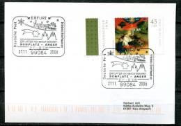 """Germany 2007 Stempelkarte/Motiv Weihnachten Mit Mi.Nr.2569 U.SST""""99084 Erfurt-Erfurter Weihnachtsmarkt Am Anger""""1 Karte - Weihnachten"""
