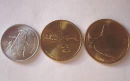 TRIS !!! SLOVENIA N. 3 MONETE FDC !!! - Slovenia