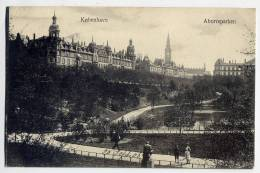 Danemark--COPENHAGUE--1908--Aborreparken (animée) N° 10 éd  R.M & Co  Eneret-------------------------------------------- - Danemark