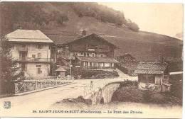 SAINT JEAN DE SIXT ,LE PONT DES ETROITS, A VOIR !!!   REF 29367 - France