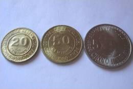 TRIS !!! PERU´ N. 3 MONETE FDC !!! - Perú