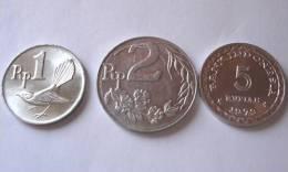 TRIS !!! INDONESIA N. 3 MONETE !!! - Indonesia