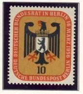 1956 Germany Berlin Complete MNH & MH Bundesrat In Berlin Set Of 2 Stamps - Neufs