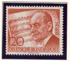 1956 Germany Berlin Complete MNH Paul Lincke Set Of 1 Stamp - Neufs