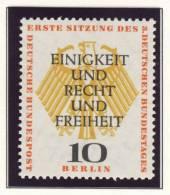 1957 Germany Berlin Complete MNH Bundestag In Berlin Set Of 2 Stamps - Neufs