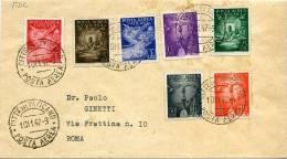 VATICANO   1º Dia De Circulacion    Ae  9 / 15 -12 - Cartas