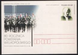 Poland Pologne, WWI: Wielkopolskie Uprising, Ignacy J. Paderewski, Pianist And Statesman. 1998. - WW1