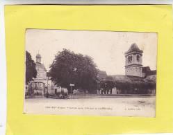 CPA - 89  - CRAVANT  - Entrée De La Ville Par La Rue D'Orléans - Autres Communes