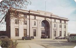The Imposing Union Station In Regina, Saskatchewan, Canada,  40-60s - Unclassified