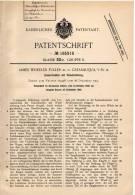 Original Patentschrift - J. Fuller In Catasauqua , USA , 1906 , Zementmühle , Zement , Cement !!! - Historische Dokumente