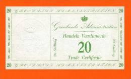 Greenland Gronland 20 Skilling 1941 .g. - (R053)    REPRODUCTION - COPY - Greenland