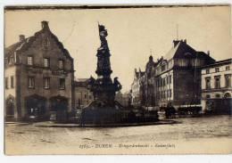 Allemagne--DUEREN,DUREN-- 1927--Kriegerdenkmahl---- Kaiserplatz (animée,attelage) N° 1783  éd ???? - Dueren