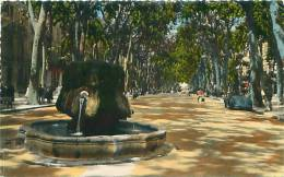 13 - AIX-EN-PROVENCE - Fontaine Thermale Sur Le Cours Mirabeau (Soc. Ed. De France, 2012) - Aix En Provence