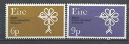 Irlande 1970 N°239/240 Neufs ** Conservation De La Nature - 1949-... República Irlandése