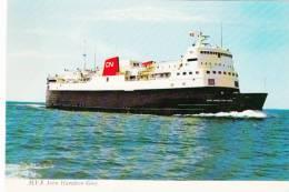 M.V.S. Hamilton Grey - Ferry Bateau Boat - Tormentine N. Brunswick - Canadian National  - Unused - Ships