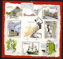 2007.BLOC N° 111 ** CAPITALES EUROPEENNES BRUXELLES - Bloc De Notas & Hojas