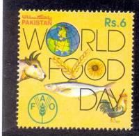 1993 PAKISTAN WORLD FOOD DAY FISH ANIMAL BIRD FLOWER FAO UMM. - Ohne Zuordnung