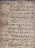 ACTE DE SUCCESSION A DECHIFFRER DATE DE 1785 A PARIS - GENERALITE DE PARIS X 6 - 12 PAGES - Manuscrits