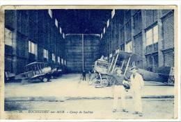 Carte Postale Ancienne Rochefort Sur Mer - Camp De Soubise - Aviation Militaire, Avions - Rochefort