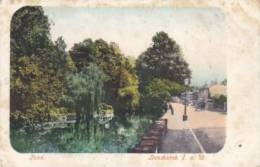UK - Isle Of Wight - Pond Bonchurch (rare, Animation) - Non Classés