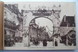 39 : RARE - Album Souvenir - Fêtes Du Centenaire De Pasteur - 26 Mai 1923 - Carnet De 16 CPA Animées - Dole