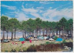 Landais - Camping Au Bord Du Lac: PANHARD DYNA, RENAULT 4 & DAUPHINE, SIMCA ARONDE & P60, CITROËN 2CV AK, TENTES Etc. - Passenger Cars