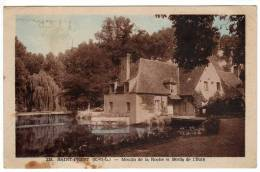 28 : Saint-Prest : Moulin De La Roche Et Bords De L'eure - France