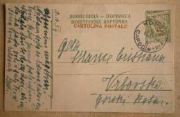 Yugoslavia - Cartolina Postale (postcard) STT VUJNA - CAPODIISTRIA - Traveled 13.X.1954 - Jugoslavia