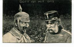 "Ancienne Cp ""Gott Ist Mit Uns"" Cp Non Voyagée - Patriotic"
