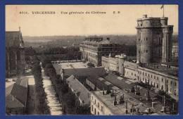 75012 PARIS Bois De Vincennes, Vue Générale Du Château ; Fort - Distretto: 12