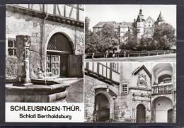 31995   Germania,   Schleusingen -  Thur.  Schloss  Bertholdsburg,  NV - Schleusingen