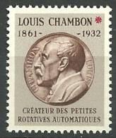 ESSAI DE TIMBRE MACHINES CHAMBON  Neuf Luxe  MC 05 - Proofs