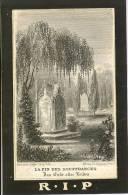 Doodsprentje ( 9259) Hallaert / Mouton 1881 - Knesselaere Knesselare Beernem - Images Religieuses