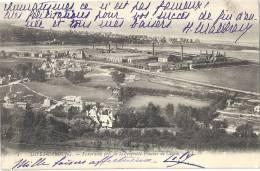 DIVES - CABOURG : Panorama Pris De La Propriété Foucher De Careil (Vue Sur Usine) - Dives