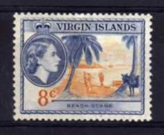 British Virgin Islands - 1956 - 8 Cents Definitive/Beach Scene - MH - Iles Vièrges Britanniques