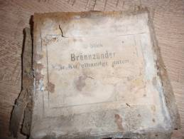Boites A Allumeurs Pour Grenade Oeuf  Ou Kugel Allemande 14 - 18 - 1914-18