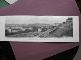 Double CPA 29 BREST Vue Panoramique Du Port De Commerce Et De La Rade PRECURSEUR ( Avant 1905 ) - Brest