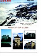 LOT DE 2 CARTES +   LELEX MONT BLANC ET MESSIMY SUR SAONR - Postcards