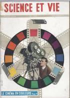 Science Et Vie Le Cinéma Couleur ( Cinématographe Camera ) Marine De Guerre Francaise ( Bateaux Navire Militaire ) - Books, Magazines, Comics