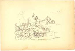 Gravure Illustration De Poulbot Anti-Allemande - Format (13,7 X 20 Cm) - TB (voir Scan) - Sciences & Technique
